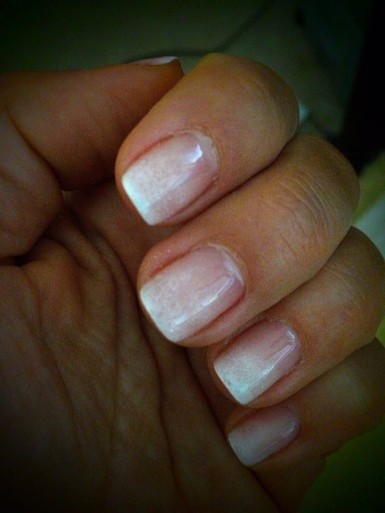 Shellac Manicure! Snowy French! Credit Goes To Tony!