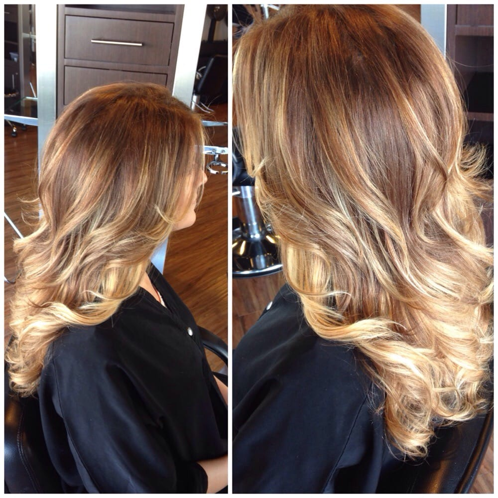 Hand Painted Highlights For A Natural Blonde Look Yelp