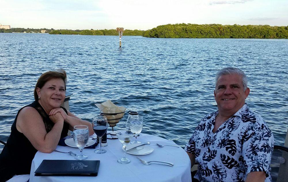 Ophelia S Sarasota: Enjoying A Lovely Evening On The Bay.