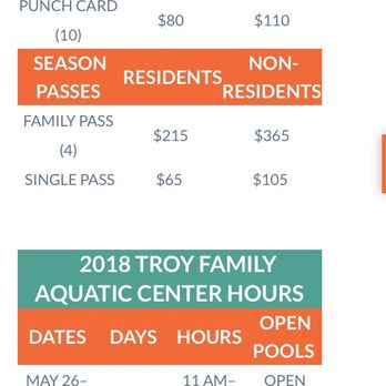 Troy Family Aquatic Center - 2019 All You Need to Know BEFORE You Go