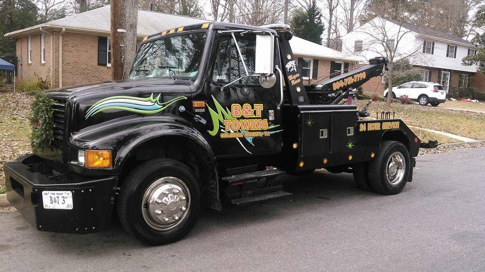 Towing business in Colonial Heights, VA