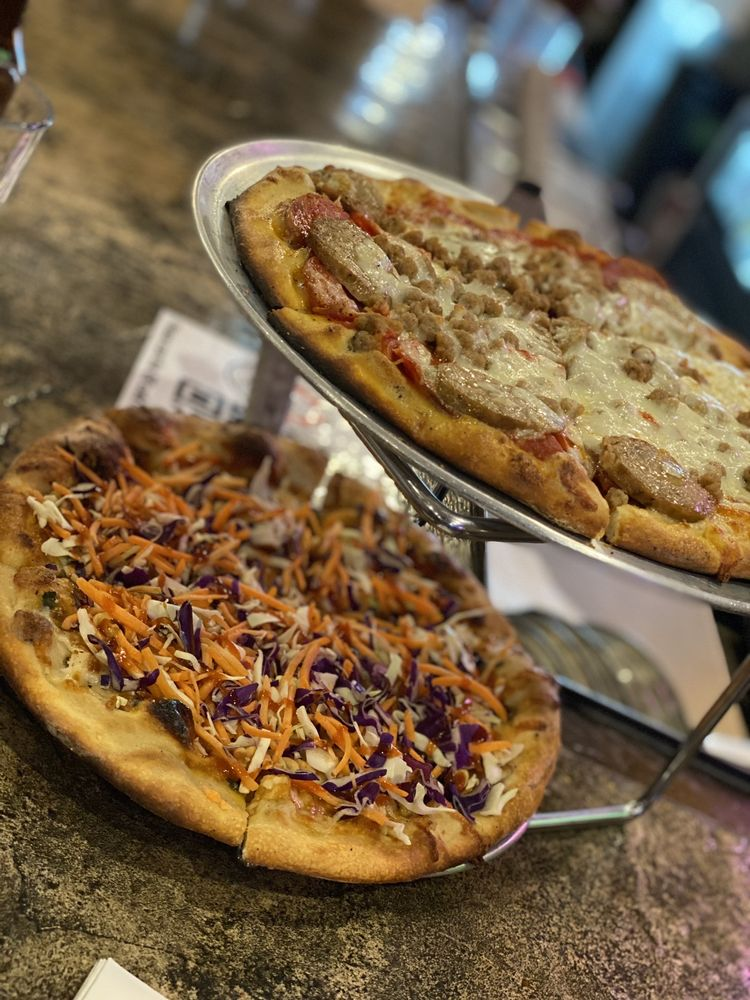 The Rail a Pizza Company: 218 S 1st St, Rogers, AR