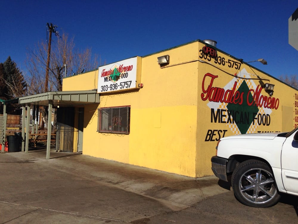 Photo of Tamales Moreno - Lakewood, CO, United States. Storefront of Tamales Moreno