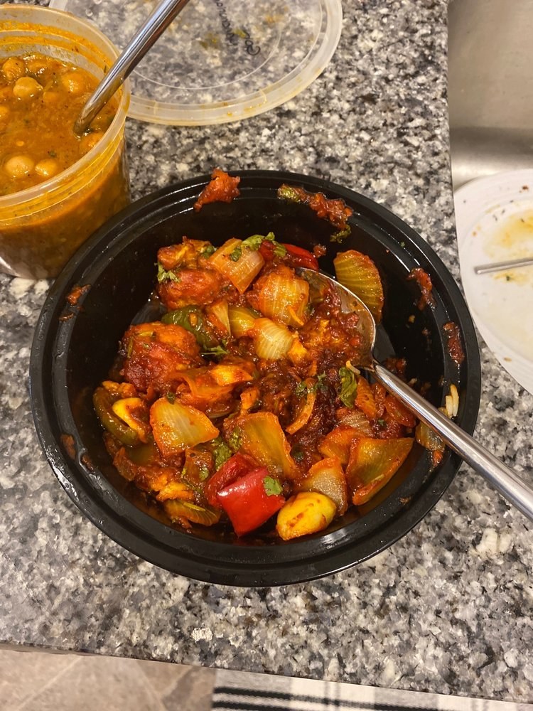 Food from Singh Biryani