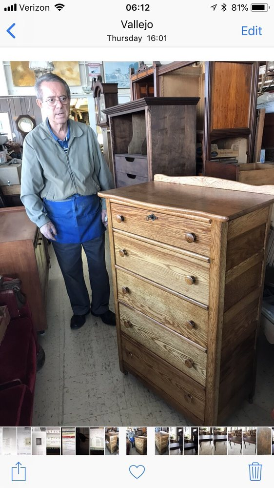 Tony's Furniture Refinishing: 345 Tennessee St, Vallejo, CA