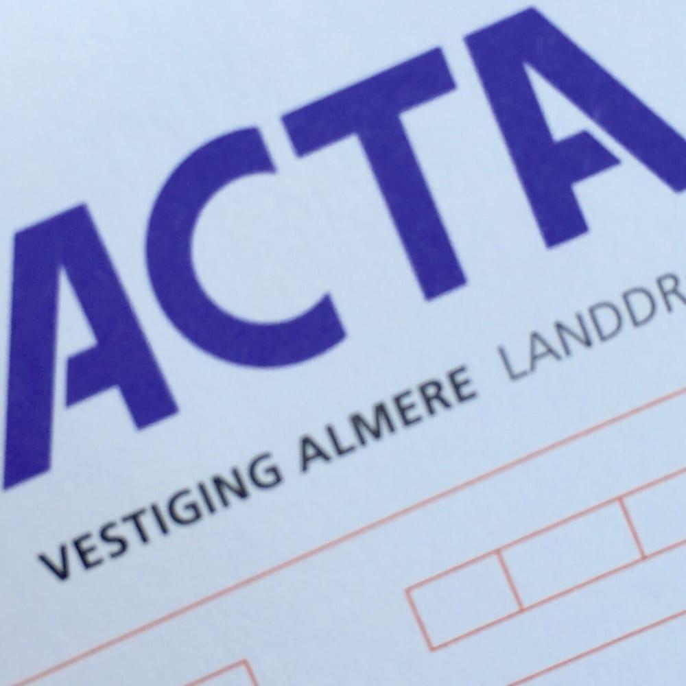 ACTA: Landdroststraat 4, Almere, FL