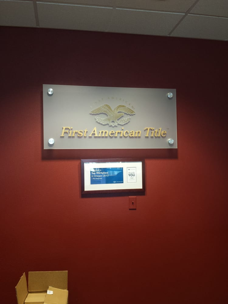 First American Title Insurance Company | 1225 Crater Lake Avenue, Suite 101, Medford, OR, 97504 | +1 (541) 779-7250