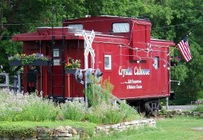 Crystal Caboose: 4 Academy St, West Chazy, NY