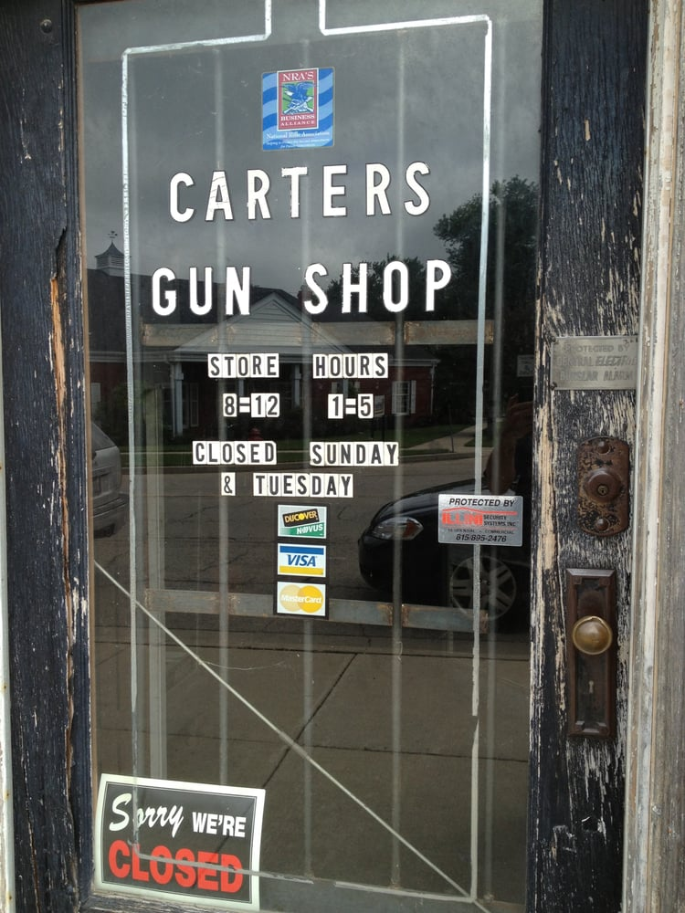 Carter's Gun Shop: 202 W Comanche Ave, Shabbona, IL