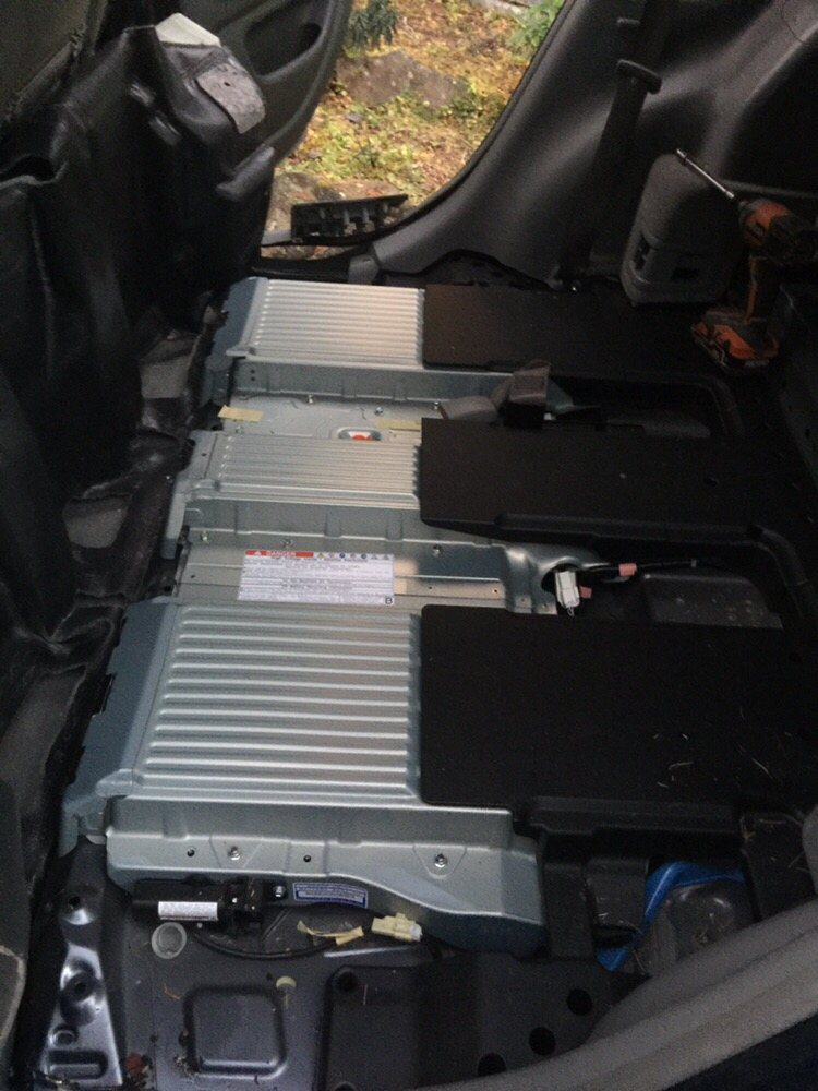 Photo of GoVoltage - Mountain View, CA, United States. Toyota Highlander hybrid battery