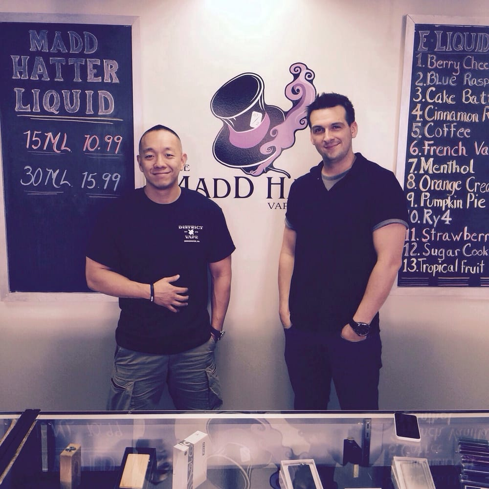 Fellow Vape shop owner, Albert, stopped by to show some love