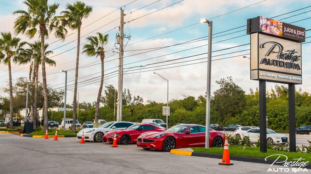 Prestige Auto Spa: 15180 Biscayne Blvd, North Miami, FL