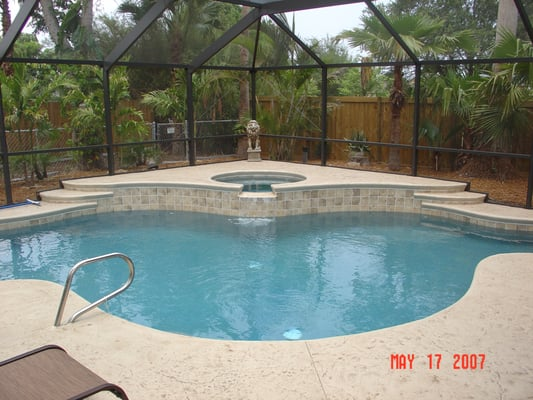 Best pools of brevard inc hot tub pool 4660 n for Pool show in melbourne