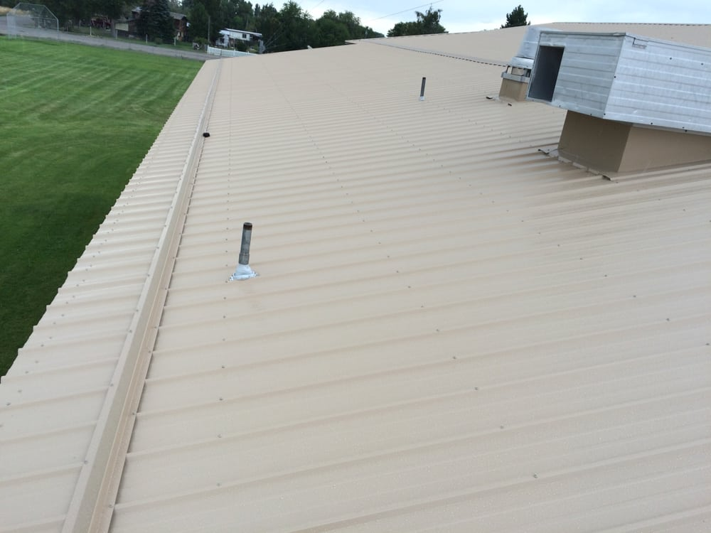 Metal Roof Installed By Jr Roofing Yelp