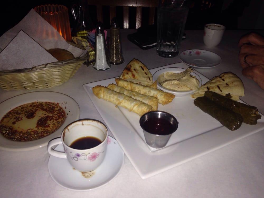 Sampler platter yelp for Anatolia turkish cuisine