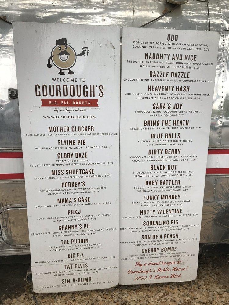 Gourdough's Big Fat Donuts: 1503 South 1st St, Austin, TX