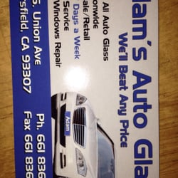 Adams auto glass auto glass services 5311 s union ave photo of adams auto glass bakersfield ca united states business card colourmoves