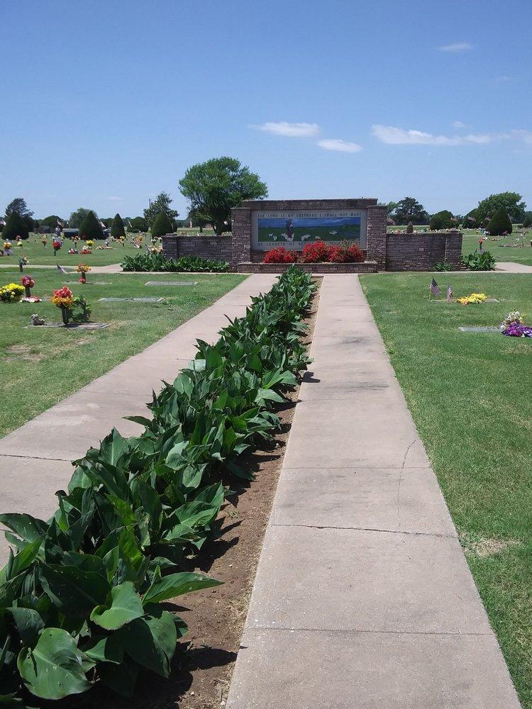 Memorial Park Cemetery: 6405 Memorial Dr, Enid, OK