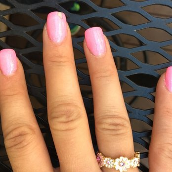 Photo Of Celebrity Nails Plano Tx United States Chipping Nexgen In Less