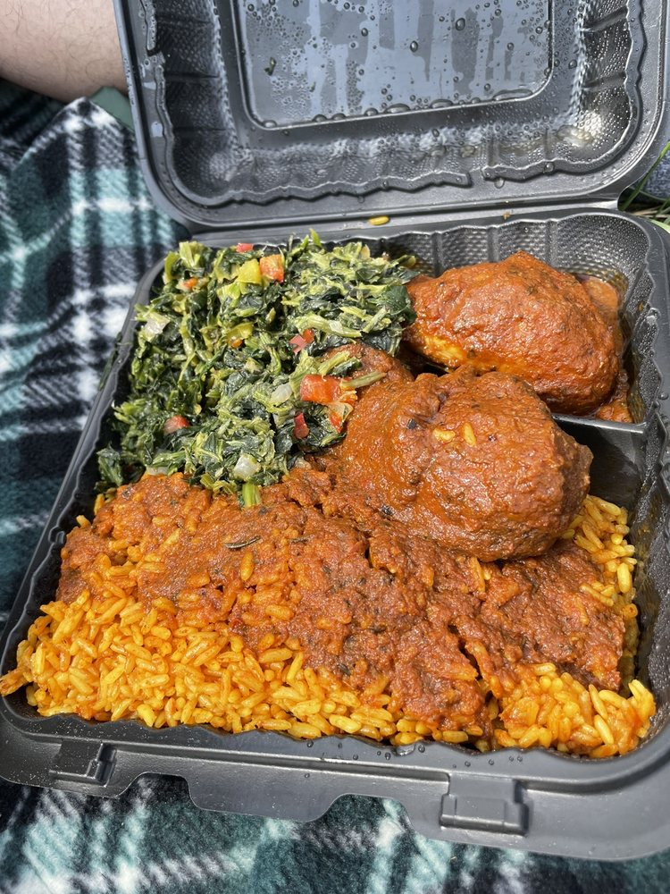 Jodeem African Cuisine: 8145 Baltimore Ave, College Park, MD