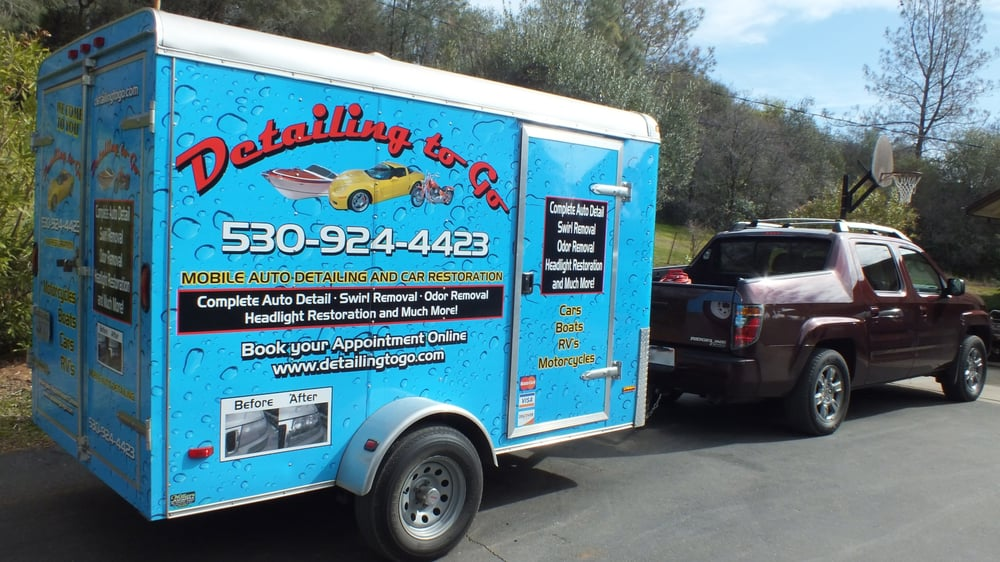 Detailing To Go Servicing Amp Detailing Paradise Ca United States Phone Number Services