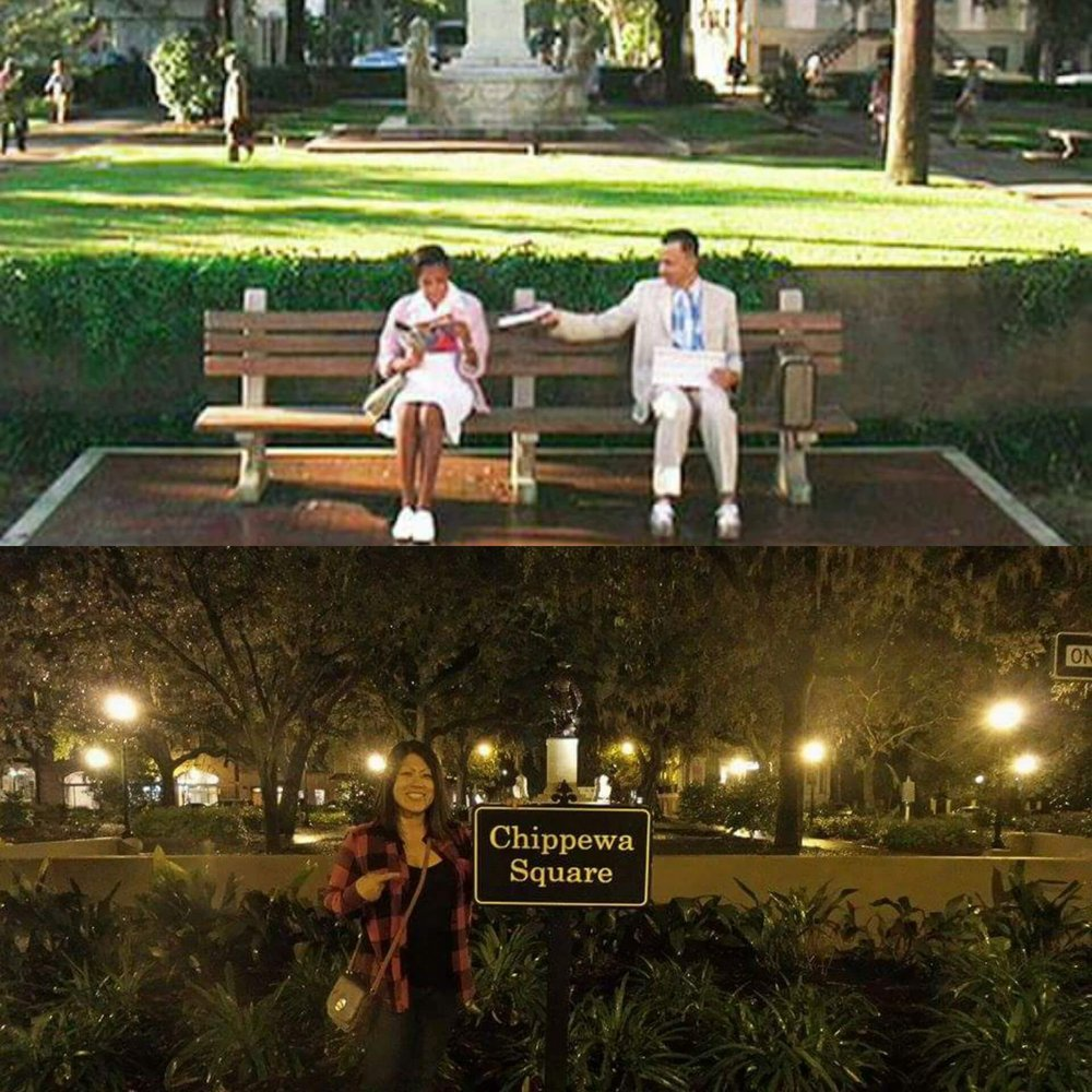 Forrest Gump S Bench Location Yelp