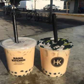 High Quality Photo Of Hana Kitchen   Isla Vista, CA, United States. Black Milk Teas