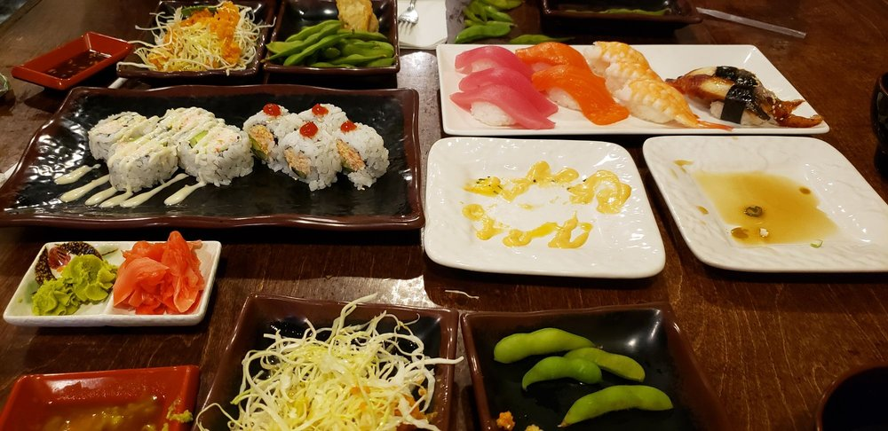 Avocado California Roll and Sushi