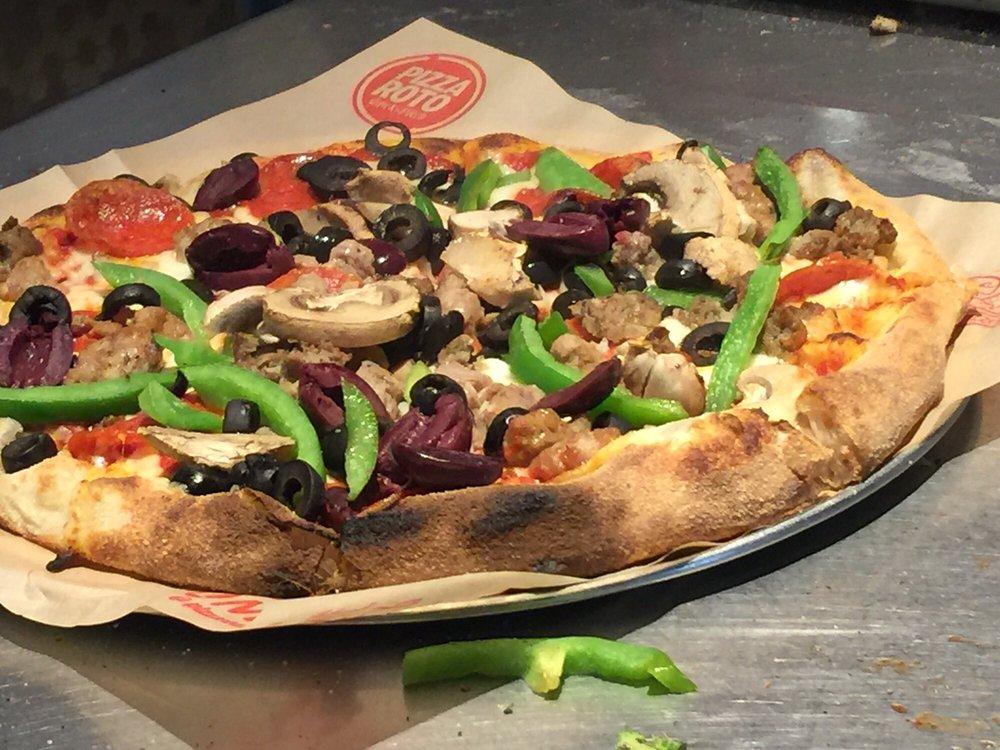 Pizza Roto - Madison: 560 River St, Madison, OH