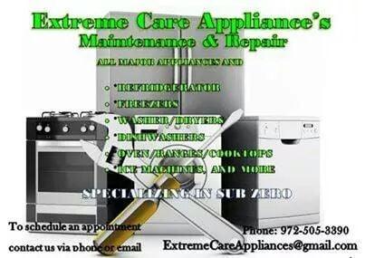 Extreme Care Appliance Repair: Balch Springs, TX