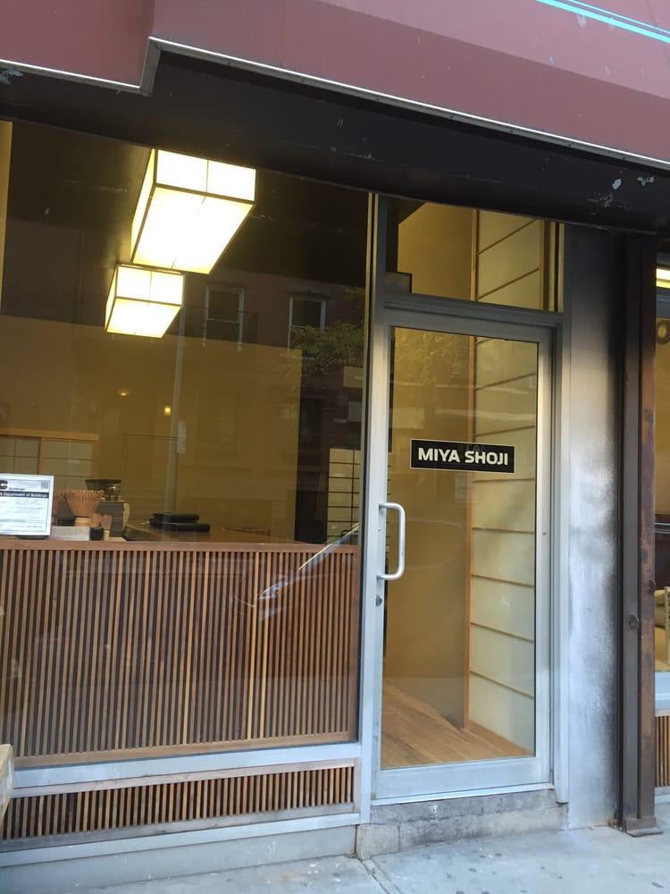 Miya Shoji Interiors Shades Blinds 228 W 18th St Chelsea New York Ny Phone Number Yelp