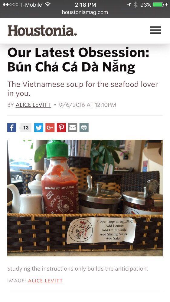 Photos for Bun Cha Ca Da Nang - Yelp