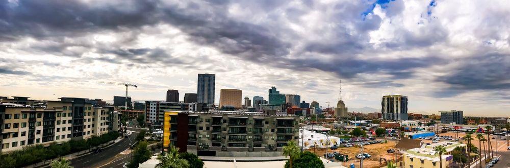 From The Rooftop: 222 E Portland St, Phoenix, AZ