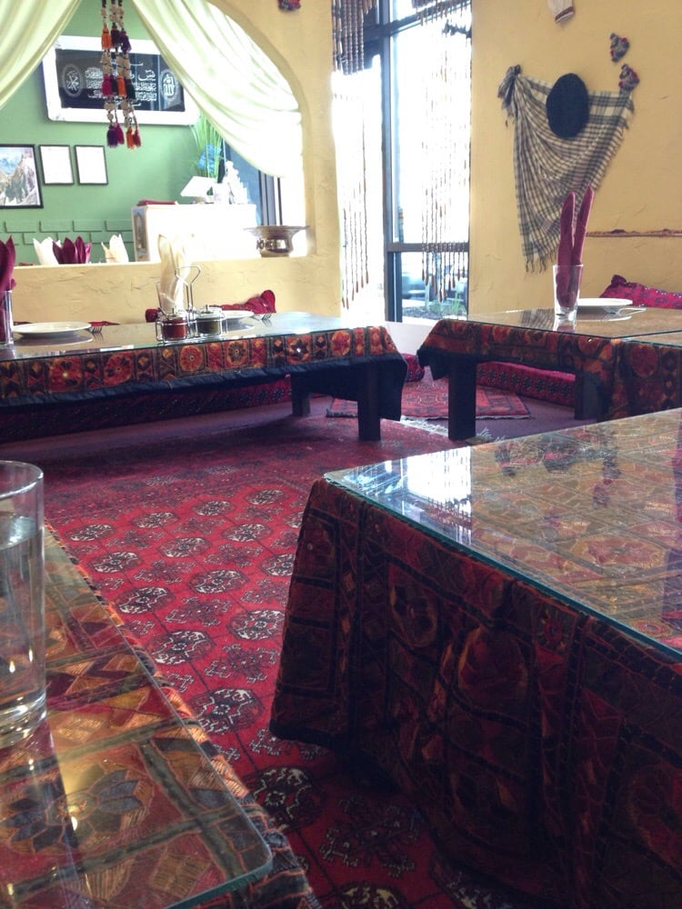 Sitting area yelp for Afghan cuisine fremont