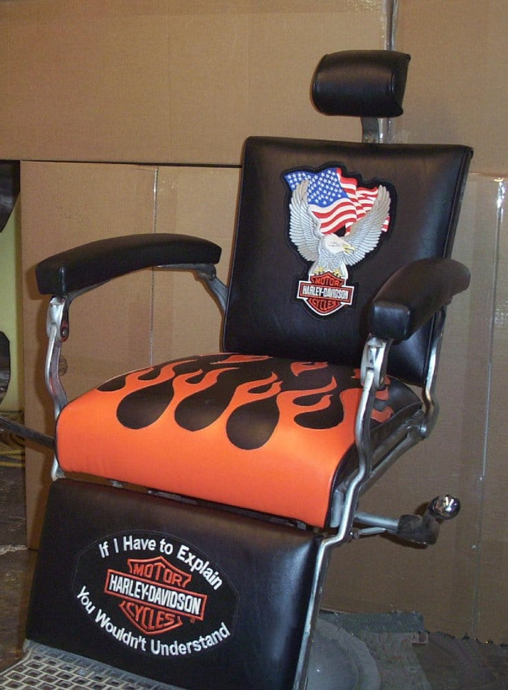 Gentil Photo Of City Upholstery Custom Shop   Pasadena, TX, United States. Harley  Barber