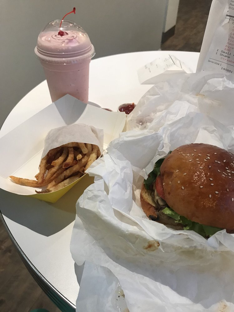 Food from The Burger Place