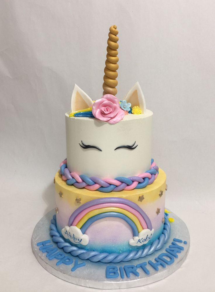 Unicorn theme cake , Yelp