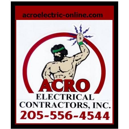 Acro Electrical Contractors: 1607 Crescent Ridge Rd NE, Tuscaloosa, AL