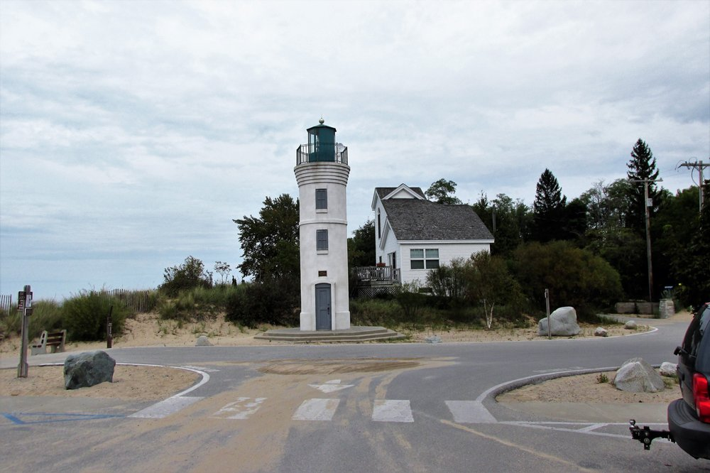 Robert H. Manning Memorial Lighthouse: Village Park, Empire, MI