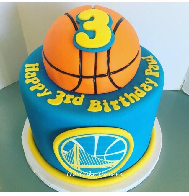Warriors Basketball Birthday Cake Yelp
