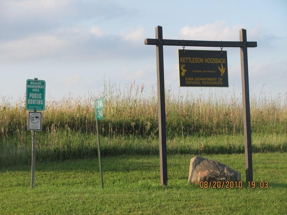 Kettleson Hogsback Wildlife Management Area: Spirit Lake, IA