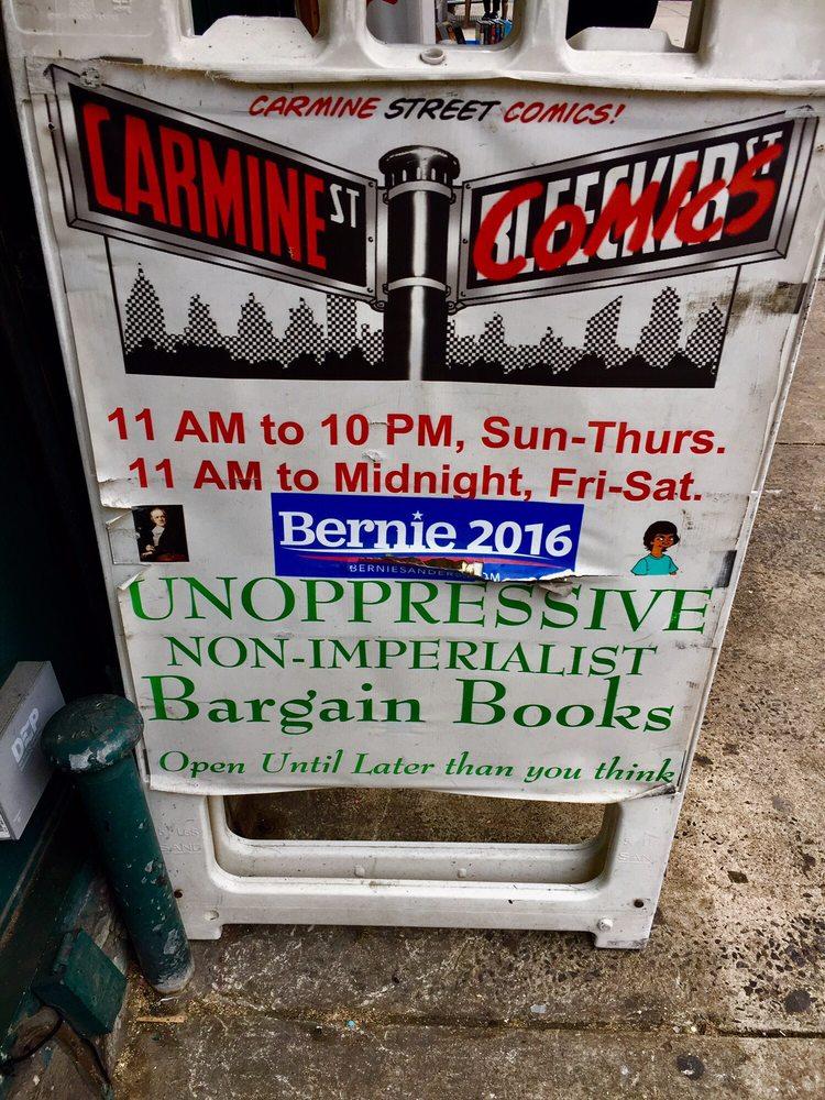 Carmine Street Comics: 34 Carmine St, New York, NY