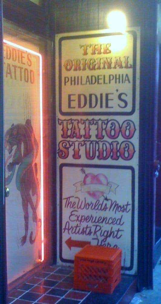 Photos for philadelphia eddies tattoo 621 yelp for Eddies tattoos philadelphia