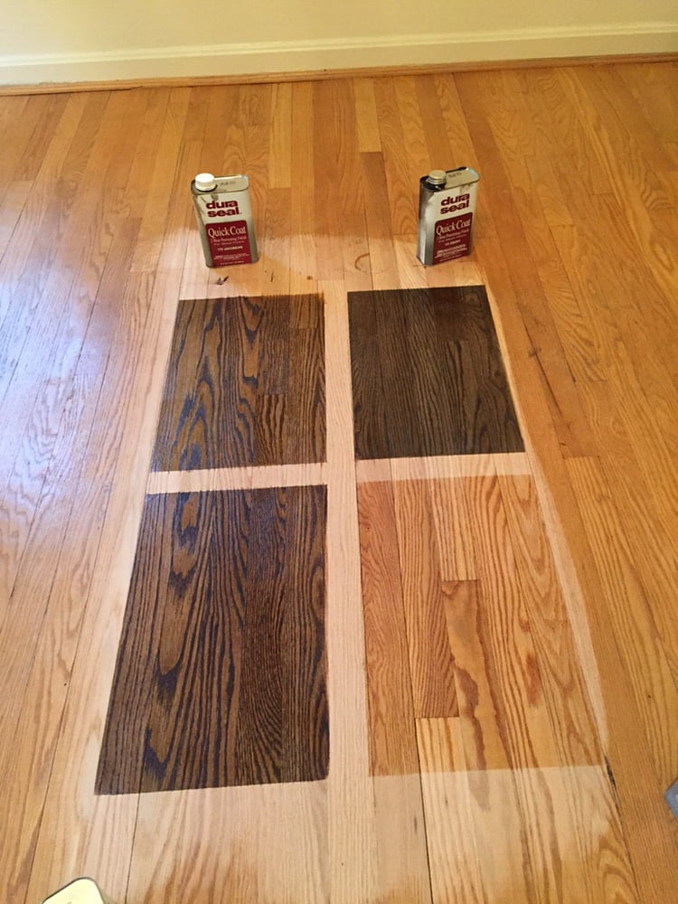 Choosing the perfect stain color for your hardwood floor for Hardwood flooring companies near me