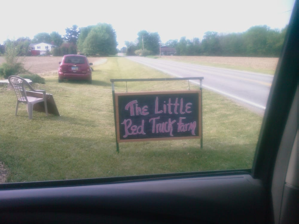 The Little Red Truck Farm: 1010 New State Rd, Norwalk, OH