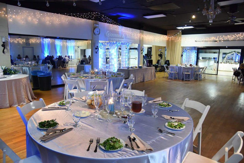 Table setup for my wedding reception - Yelp