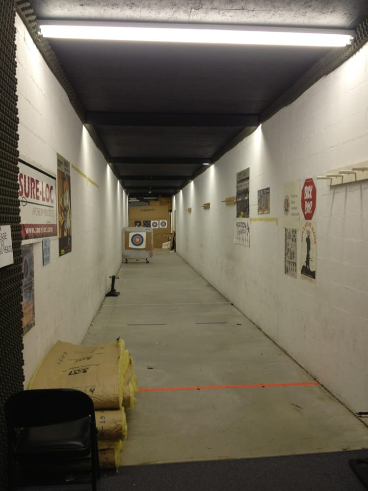 Double Action Indoor Pistol and Archery Ranges