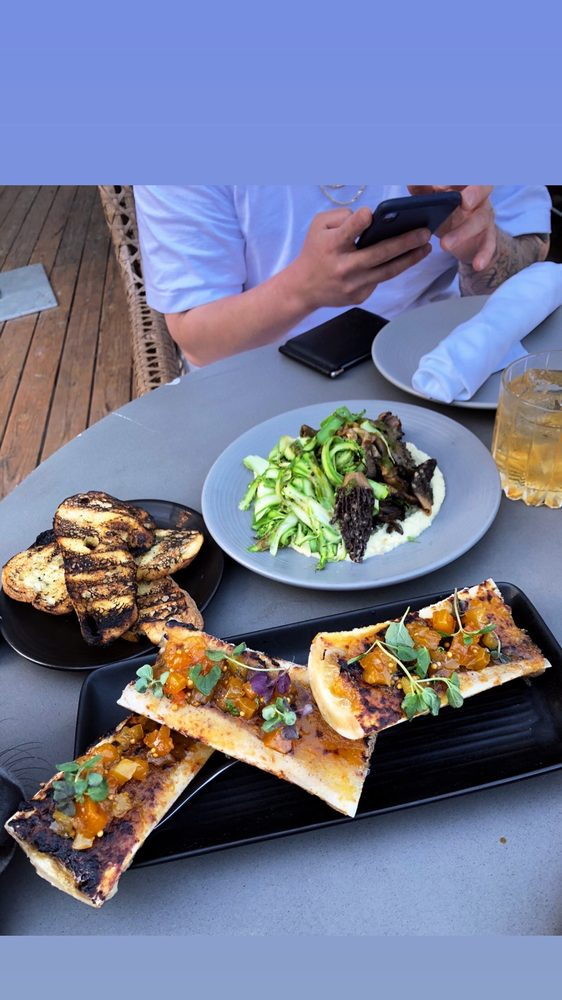 Food from The Malibu Cafe