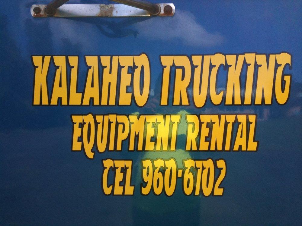 Kalaheo Trucking LLC: Serving Area, Keaau, HI