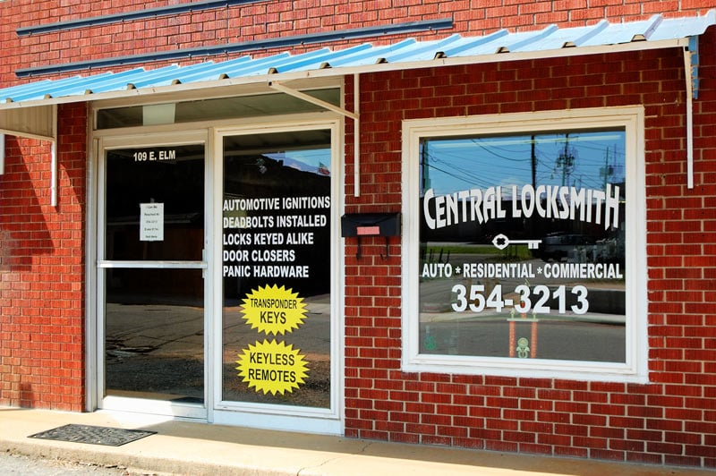 Central Locksmith: 109 E Elm St, Morrilton, AR